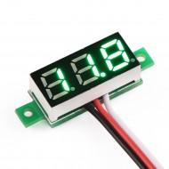 DC 0 ~100V Digital Voltmeter/Tester Red/Blue/Yellow/Green Led display Digital Meter/Panel Meter DC 12V 24V Voltage Meter/Power Monitor