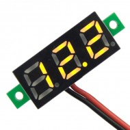 Digital Meter DC 3.0~30V Voltage Meter/Tester Red/Yellow/Blue/Green Led display Voltmeter DC 12V 24V Volt Meter/Panel Meter/Monitor