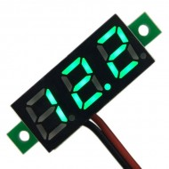 Digital Voltage Meter DC 3.0~30V Voltmeter Red/Yellow/Blue/Green Led display Volt Meter/Tester DC 12V 24V Panel Meter/Monitor