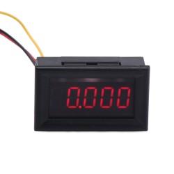 Digital Voltmeter DC 0~30.000V Voltage Meter/Tester Red/Yellow Led display Digital Meter/Panel Meter DC 12V 24V Power Monitor