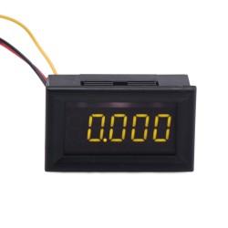DC 0~30.000V Voltmeter/Digital Meter/Panel Meter Red/Yellow Led display Voltage Meter DC12V 24V Power Monitor/Tester