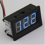 DC 4.5~150V Voltage Meter Red/Blue/Green Led display Voltmeter/Digital Meter DC12V 24V Volt Meter/Power Monitor/Panel Meter/Tester