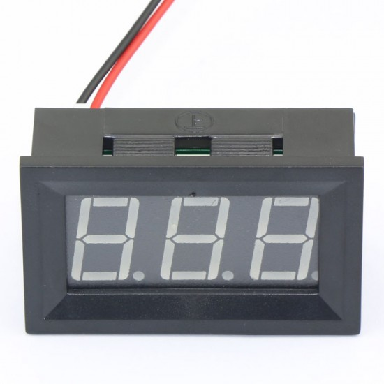 DC 4.5~150V Voltage Meter Red/Blue/Green Led display Voltmeter/Digital Meter DC12V 24V Volt Meter/Power Monitor/Panel Meter/Tester
