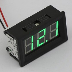 DC Meter DC 4.5~150V Digital Voltmeter Red/Blue/Green Led display Voltage Meter/Digital Meter DC12V 24V Volt Meter/Panel Meter/Monitor/Tester