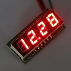 DC 0~33V Digital Voltmeter Red/Blue/Yellow/Green Led display Voltage Meter/Digital Meter DC12V 24V Volt Meter/Panel Meter/Monitor/Tester