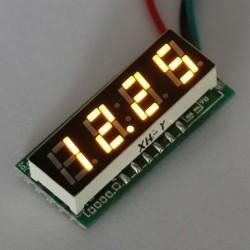 DC Voltage Meter Digital Meter DC 0~200V Voltmeter Red/Blue/Yellow/Green Led display Panel Meter DC 12V 24V Volt Meter/Power Monitor/Tester