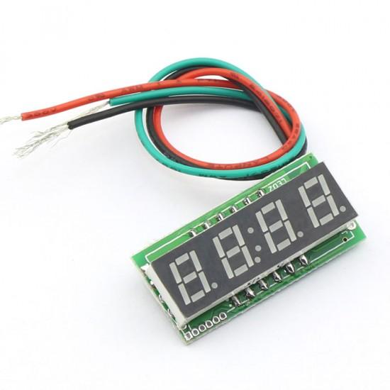 DC 0~200V Voltmeter Red/Blue/Yellow/Green Led display Voltage Meter/Digital Meter/Panel Meter DC 12V 24V Volt Meter/Power Monitor/Tester