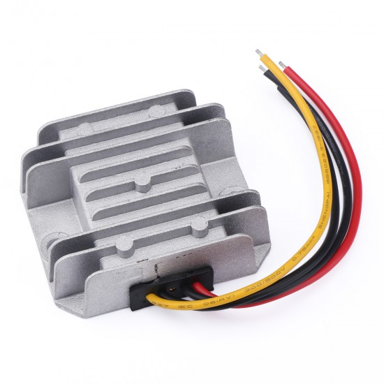 DC Step Down Voltage Regulator DC 12/24V to 5V/5A/25W Buck Converter Module Waterproof Car Power Supply