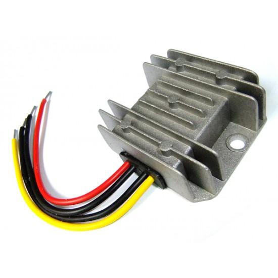 DC Step Down Voltage Regulator DC 12/24V to 5V/5A/25W Buck Converter Module Waterproof Car Power Supply