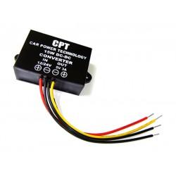 15W Power Converter DC 9V~35V 12V 24V to 5V 3A Buck Power Supply Module/Voltage Regulator DC 5V Adapter/Car Converter/Driver
