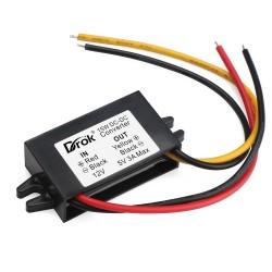 Power Supply Module DC 8~20V/12V to 5V 3A 15W Voltage Regulator/Car Converter/Power Adapter/Driver Module