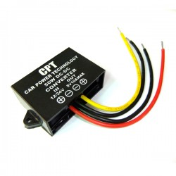 DC 12V/24V to 5V 10A 50W Stepdown Converter Waterproof Car Power Supply DC Buck Converter for RV