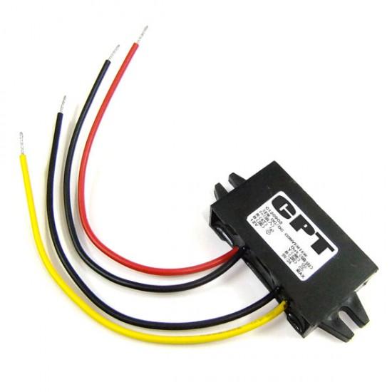 DC to DC 12V to 9V 2A 18W Buck Converter Voltage Regulator Car Power Supply
