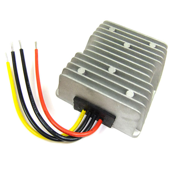 120W DC Buck Converter Waterproof 24V to 12V DC Voltage Step Down