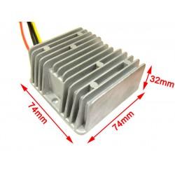 120W DC Buck Converter Waterproof 24V to 12V DC Voltage Step Down