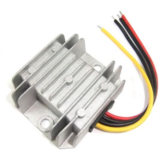 60W Power Supply Module/Car Adapter DC 24V 17~35V to 12V 5A Buck Converter/Voltage Regulator/Power Converter/Driver Module Waterproof