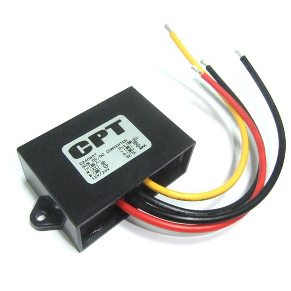 Power Supply Module DC 10~35V 12V 24V to 6V 7A 42W Buck Converter/Voltage Regulator/Power Converter/Adapter/Driver Module