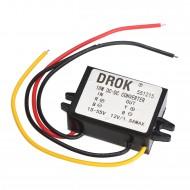 18W Power Adapter/Voltage Regulator DC 15~55V to 12V 1.5A Buck Converter/Power Supply Module/Car Converter/Driver Module