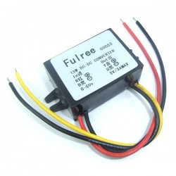 15W Car Adapter DC 8~55V to 5V 3A Buck Power Supply Module/Power Converter DC 5V Voltage Regulator/Driver Module