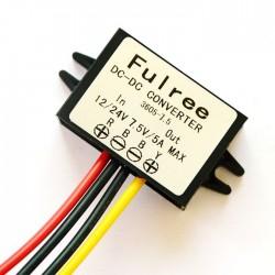 37.5W Car Adapter DC 8~35V to 7.5V 5A Buck Converter/Voltage Regulator/Power Converter/Power Supply Module/Driver Module