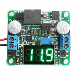 DC12V 2A Adjustable Boost-buck Converter Green LED Step Down Up Power Supplies
