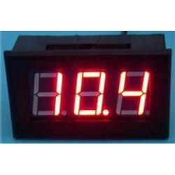 Digital Voltmeter DC 0~100V Voltage Meter/Digital Meter Red/Yellow/Blue/Green Led display Panel Meter DC 12V 24V Volt Meter/Monitor/Tester