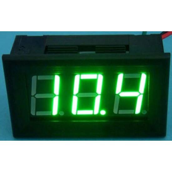 DC 12V 24V Digital Meter/Panel Meter DC 0~100V Voltmeter Red/Yellow/Blue/Green Led display Voltage Meter/Monitor/Tester