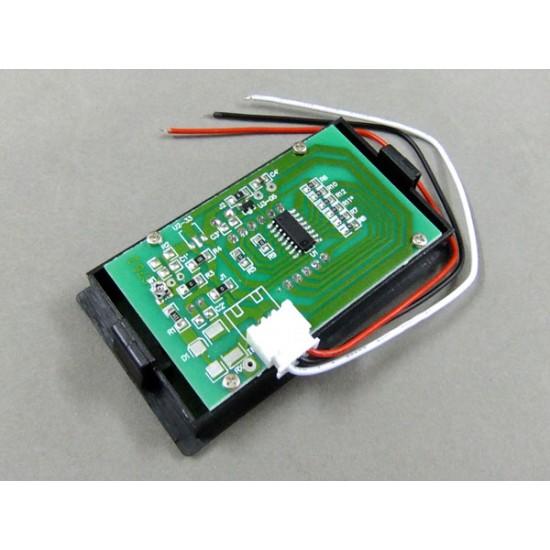 DC Voltage Meter DC 0~100V Voltmeter Red/Blue/Green Led display Panel Meter/Monitor/Tester DC 12V 24V Voltage Meter/Digital Meter