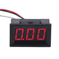 DC Digital 0-9.99V Voltmeter Panel Red/Bule/Green voltage Panel Meter Voltage Power Monitor