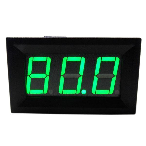 DC 15V-80V Red/Blue/Green LED Digital Voltage Panel Meter DC Voltage Monitor Meter for Car Motorcycle and DIY etc