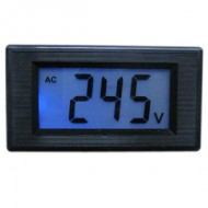 Digital  LCD Voltmeter AC 80-500V Blue Alternating Voltage Digital Panel Meter