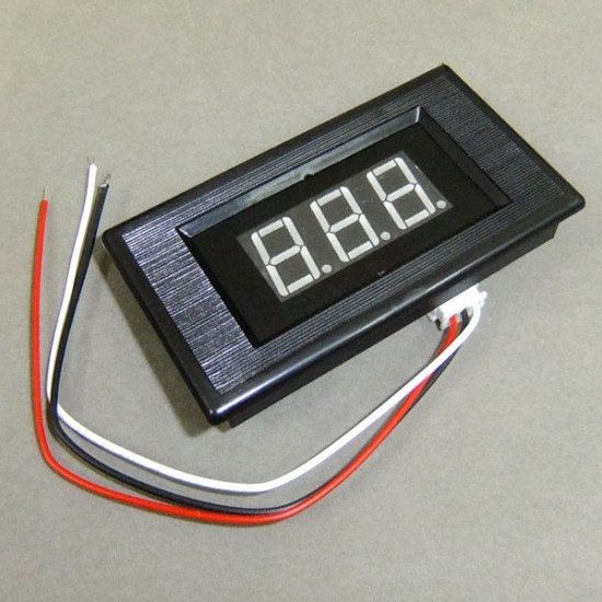 DC 0~100V Digital Voltmeter/Panel Meter Red/Blue/Green Led display Digital Meter/Monitor/Tester DC 12V 24V Voltage Meter