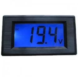 Digital Voltmeter DC 0-199.9V Blue LCD Digital Panel Meter 0V to 199.9V Voltmeter Module