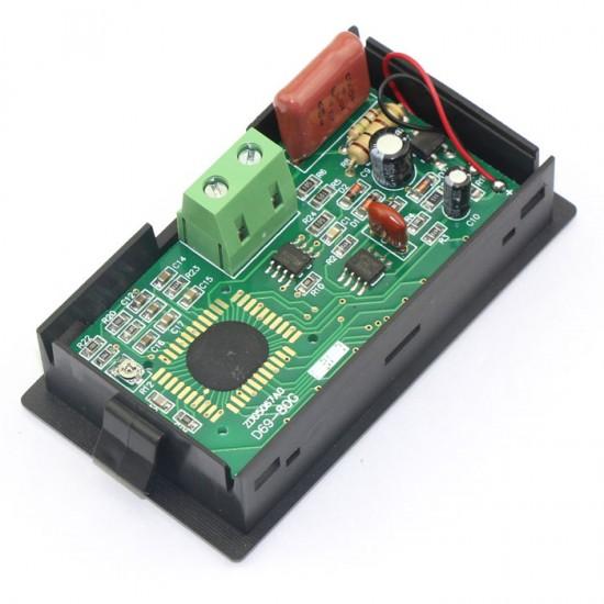 AC 80-250V Digital Frequency Panel Meter 10-199.9Hz LCD Frequency Meter Gauge AC Frequency Monitor Meter #090710