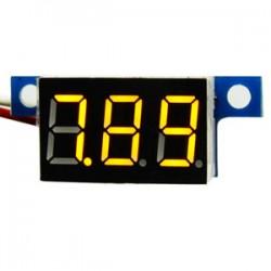 DC Voltage Meter DC 3.3V~30V Voltmeter Red/Blue/Yellow/Green Led display Digital Meter/Panel Meter DC 12V 24V Volt Meter/Monitor/Tester