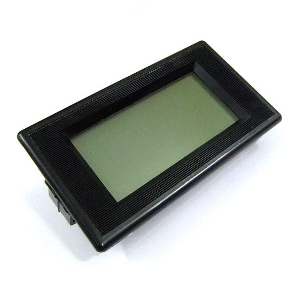 Digital Meter AC 0~500V Voltmeter Blue Backlight LCD Display Voltage Meter DC 12V Volt Meter/Panel Meter/Monitor/Tester