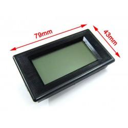 Digital Voltmeter DC 0-199.9mV Blue LCD 0V to 199.9mV Voltage Digital Panel Meter