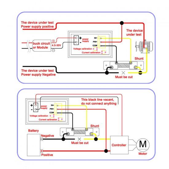 uxcell/® Shunt Resistor 60A 75mV for DC Current Ammeter Analog Panel Meter External FL-2 Shunt Resistance Divider