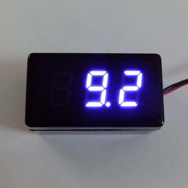 Digital Meter DC 1.7~25V Voltmeter Red/Blue/Green Led display Panel Meter/Monitor/Tester DC 12V 24V Volt Meter Waterproof Digital Meter