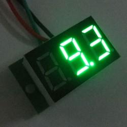 Digital Voltage Meter DC 0~100V Green Led display Voltmeter/Panel Meter DC 12V 24V Digital Meter/Monitor/Tester