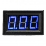 Digital Meter DC 0~10A Ammeter/Ampere Meter Blue Led Display Digital Current Meter DC 12V 24V Panel Meter/Digital Tester