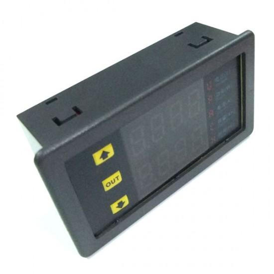 DC 10-75V 20A Multi-function Meter Voltmeter Ammeter LED Display Voltage Current