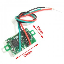 Digital Voltage Meter DC 0~10V Voltmeter/Panel Meter Red/Blue/Yellow/Green Led display Tester  DC 12V 24V Volt Meter/Monitor