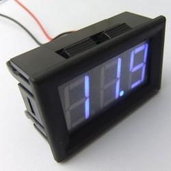 DC 12V 24V Digital Meter DC 7~150V Voltmeter Red/Blue/Green Led display Voltage Meter/Panel Meter DC 36V 48V Volt Meter/Monitor/Tester