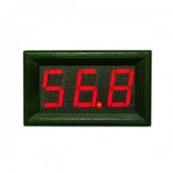 DC 3.5~30V/0~200V Digital Voltmeter White/Red/Green/Blue/Yellow Led display Voltage Meter/Panel Meter DC 12V 24V Digital Meter/Monitor/Tester 2in1