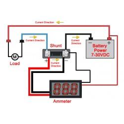 DC Current Detector Meter 0.56