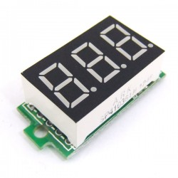 DC Power Voltage Monitor Meter 0.36