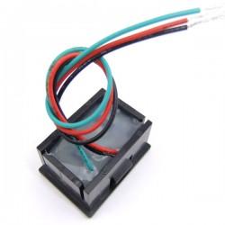 DC Three wire Voltage Panel Meter 0.36