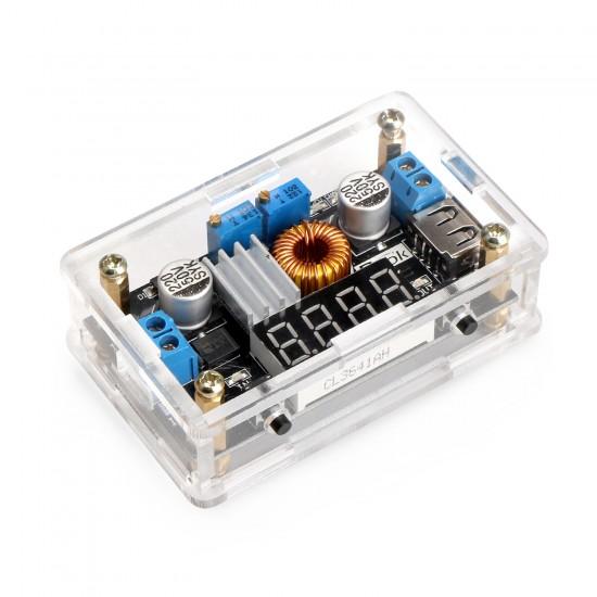 DROK: LM2596 DC Buck Volt Regulator 36V to 24V 12V 5V 3.3V 3V Converters Constant Volt&Amp 5-36V to 1.25-32V 5A 75W Step-down LED Driver Switch Power Supply Digital LED Voltmeter USB Output