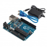 UNO R3 Atmega328p Development Board with USB Cable for Arduino - Compatible With Arduino UNO R3 Mega 2560 Nano Robot